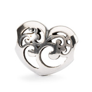 Caring Light Heart Bead - Trollbeads (TAGBE-40040)