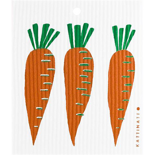 Swedish Dishcloth - Carrots (56190)