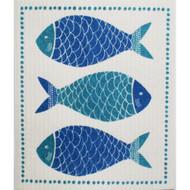 Swedish Dishcloth - Fish Market (70076)