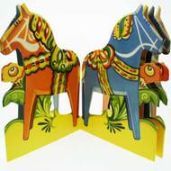 Paper Cutout - Dala Horse (BK-26)
