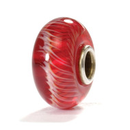 Red Feather - Trollbeads - Glass (TB100047)