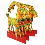 Paper Cutout - Straw Goat - Julbock (BK-27)