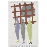 Ekelund Tea/Kitchen Towel - Fangst (Fangst)