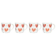 "Twinkle Glogg Mugs Set - 2.5"" - Set of 4 - Gift Boxed (5015358)"