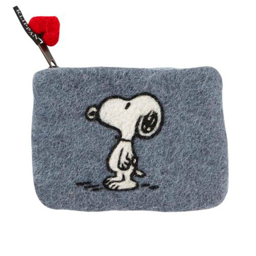Felt Coin Purse - Snoopy - Klippan (590445)