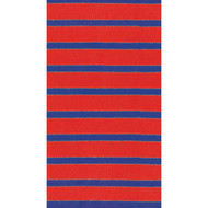 Bretagne Red/Blue Paper Guest Towel Napkins - 15 per package (11862G)