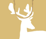 "Gift Bag - Large - Alpine Stag - 10"" X 11"" (9687B3)"