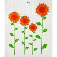 Swedish Dishcloth - Sunflowers (56982)