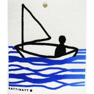 Swedish Dishcloth - Sailboat (56126)