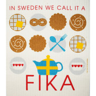 Swedish Dishcloth - Fika (219.43