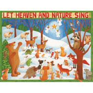 Let Heaven And Nature Sing Christmas Card Box C Size 16 In (87212)