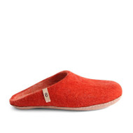 Egos Copenhagen Slipper - Rusty Red (304)