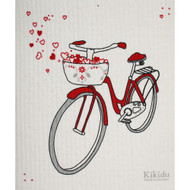 Swedish Dishcloth - Red Bicycle (70674)