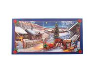 Scandinavian Christmas Poster - Horse Drawn Tomtar Sleigh (BKP1)