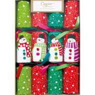 Christmas Crackers - Pom Pom Snowmen (CK054)