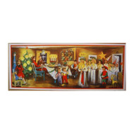 Scandinavian Christmas Poster - Lucia Celebration (BKP14)