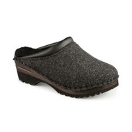 Kandinsky Sheepskin Clogs in Grey Felt (5620-409)