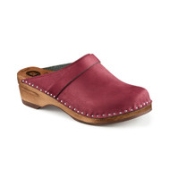 Da Vinci Clogs in Bordeaux Suede - Original Sole Collection