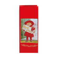 "Christmas Bottle Bag - Jenny Nystrom God Jul Girl - 13"" x 5"" (14440201)"