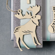 Nordic Moose Ornament (8821669)