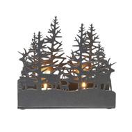 Alpine Trees Tealight Candle Holder (8820311)