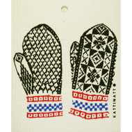 Swedish Dishcloth - Norwegian Mittens (56170)