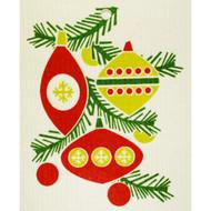 Swedish Dishcloth - Christmas Ornaments (56854)