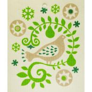 Swedish Dishcloth - Partridge in a Pear Tree (56851)