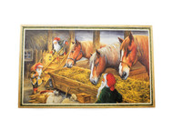 Scandinavian Christmas Poster - Stable Keepers (BKP20)