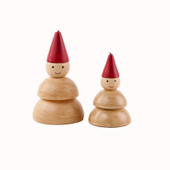 "Snowman Candles - 4"" and 6"" - Set of 2 (NE0299)"