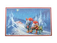 Scandinavian Christmas Poster - Starry & Bright Jultomtar (BKP3)