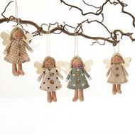 Angel Ornaments - Set of 4 (8632)