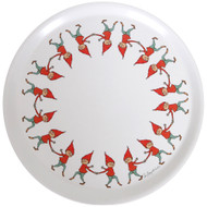 "Tomte Pixie Kids Round Tray - 15"" Diameter (86727)"