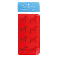 Dalahorse Ice Cube Tray/Mold - Red (57061R)