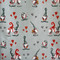 """Christmas Wrapping Paper - Knitted Heart & Pixies - 23"""" x 72"""" (16612)"""