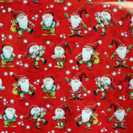 "Christmas Wrapping Paper - Santa Hampus - 23"" x 72"" (22011)"