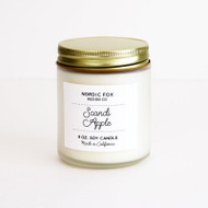 Scandi Apple Handmade Scented Natural Soy Candle (CA-Scandi Apple)
