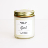 Fjord Handmade Scented Natural Soy Candle (CA-Fjord)