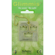 Glimmis Reflector Tag - Three Crowns (550.02)