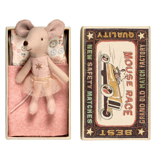 Maileg Mouse in a Box - Little Sister (16-7770)