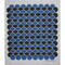 Swedish Dishcloth - Scallops Blue/Black (219.68B