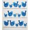 Swedish Dishcloth - Birds On A Wire (219.70)