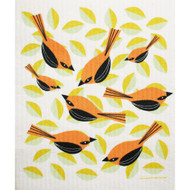 Swedish Dishcloth - Orioles (219.71)