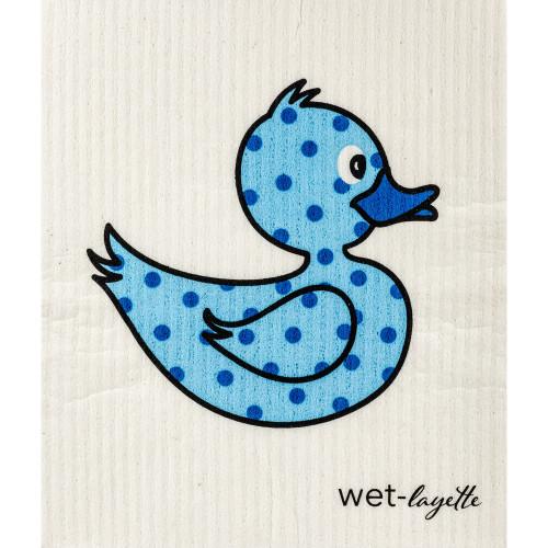 Swedish Washcloth - Blue Duck (70084)