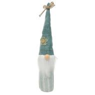 """Scandinavian Meadow Gnome - Blue Hat - 13.5"""" (T3479B)"""