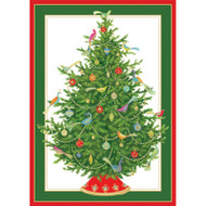 Bird Ornament Tree Christmas Card Box B Size 16 In (87102)