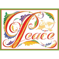 Peace Illumination Christmas Card Box B Size 16 In (87116)