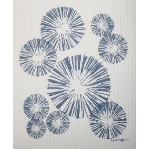Swedish Dishcloth - Pinecones Blue (70095)