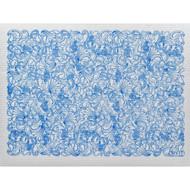 Swedish Drying Mat - Paisley Blue (70086)