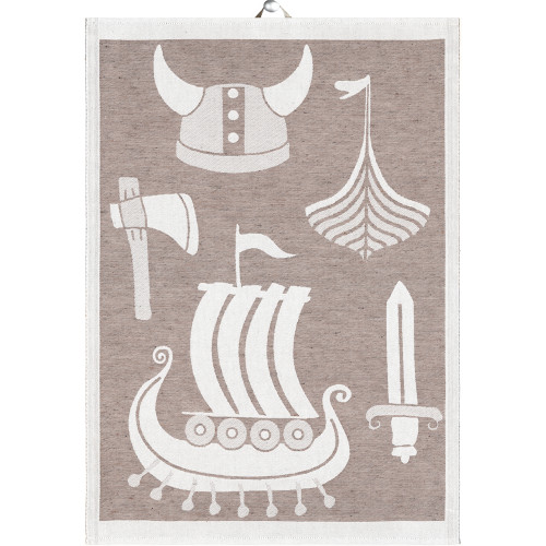 Ekelund Tea/Kitchen Towel - Birka (Birka)